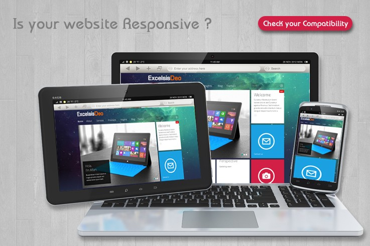 A Web Fit for the FutureA responsive website is basically a website which can adapt itself on different screens regardless of the device you are playing it on.     Read More..